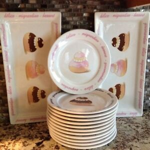 Dessert Dishes Set