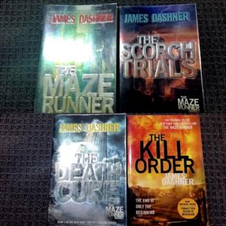 The Maze Runner Series by James Dashner Paperback