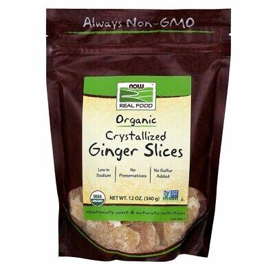 Jengibre Porciones (Cristalizado) 355ml Por Now Foods