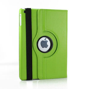 GREEN 360 ROTATING PU LEATHER CASE COVER WITH STAND FOR IPAD AIR Regina Regina Area image 2