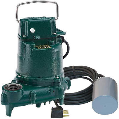 Zoeller Bn53 - 13hp Cast Iron Submersible Sump Pump W Tether Float Switch