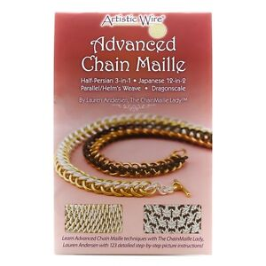 Advanced Chain Maille Jewellery Making Book by Lauren Andersen (G72/4)
