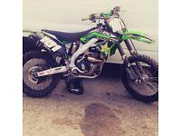 Kawasaki kxf 250 motocross bike 125 450