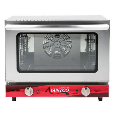 New Avantco Co-14 14 Countertop Commercial Electric Convection Oven