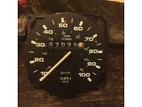 Vw t25 mph speedo