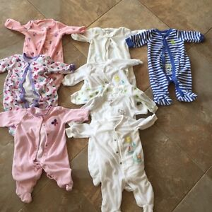 9 NB Pyjamas (carters, Emma and jack and children's place)