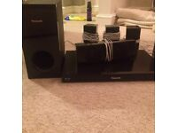BluRay player and sound system