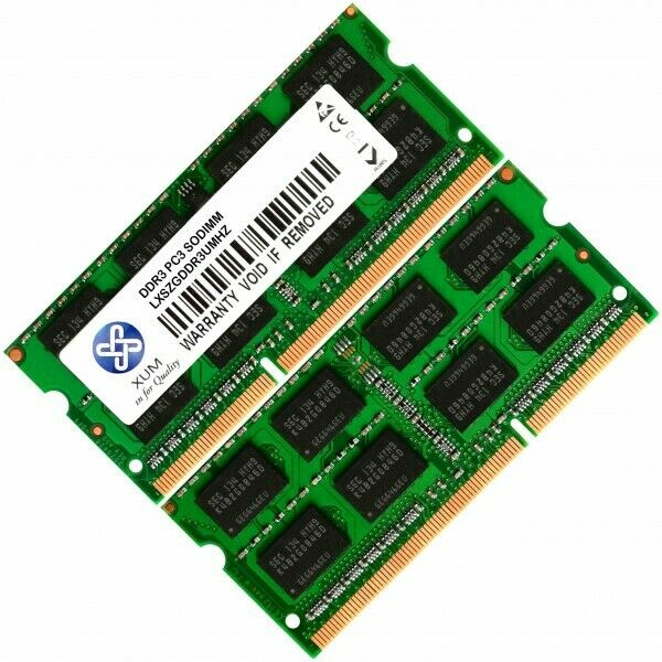 4, 8, 16, 32 GB Arbeitsspeicher RAM PC3L12800 DDR3 1600MHZ SODIMM 204 pin Laptop