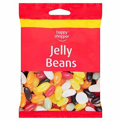 BEANS 85G KIDS SWEETS CHEWS BAG TREAT GIFTS PARTY HALLOWEEN (Halloween Jelly Beans)