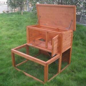♥♥♥♥ RABBIT HUTCH WITH RUN ♥♥♥♥ Londonderry Penrith Area Preview