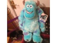 Monsters Inc New and Tagged Cuddly