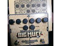ElectroHarmonix Big Muff Germanium Guitar Pedal