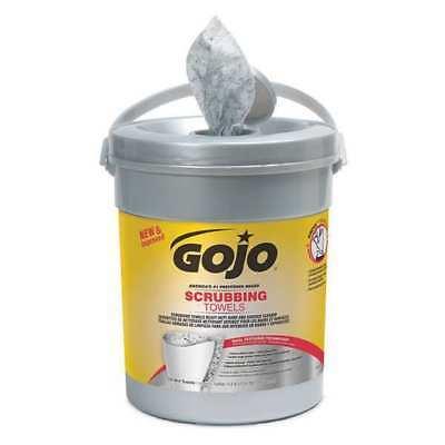 Scrubbing Towels, 72 Count Bucket, Dual Textured, Wet GOJO 6396-06