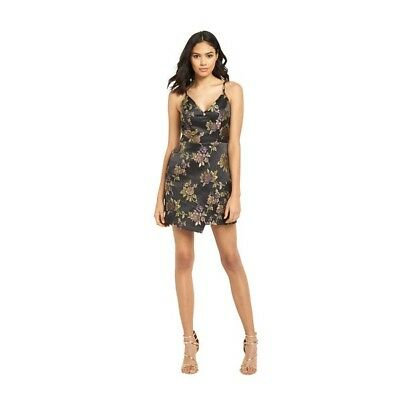 Jacquard-cami (River Island Floral Dress Size 14 Jacquard Cami Party BNWT RRP £62)