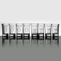 Wedding Favour Etched Glass Products - Gifts, Barware & More!