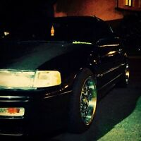 1990 supercharged CRX si for sale!!