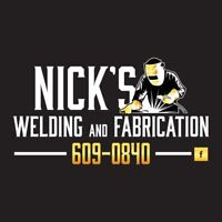 Nick's Welding & Fabrication Quispamsis 609-0840