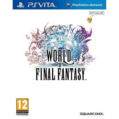 World of Final Fantasy (Playstation Vita) - Standard Edition [New Game]