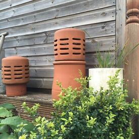 Terracotta Chimney Cowl & Stack