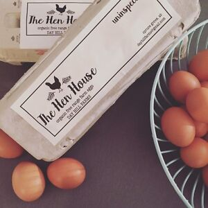Farm Fresh, Free Range Organic Eggs- weekly delivery available