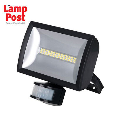 Timeguard LEDX20PIRB 20W LED Energy Saving Security PIR Wide Angle Floodlight