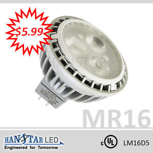 Hanstar LED 7W MR16 - Case of 12 Bulbs