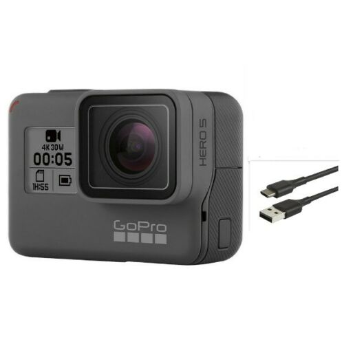 Used GoPro HERO 5 Black Camcorder Action 4K 12MP Ultra HD Camera Touch Screen