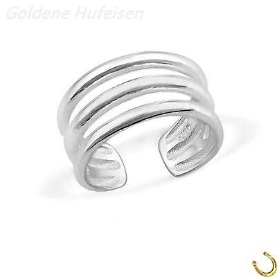 ZEHENRING 925 Echt Silber Zehring Top Geschenkidee / z-620 gh-1a