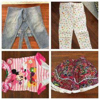 Selection of girls pants / shorts
