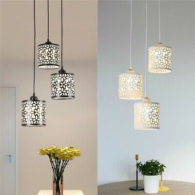 US Modern Flower Petal Ceiling Light LED Pendant Lamp Dining