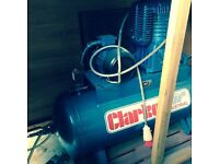 CLarke 270 litres Air compressor ** Nearly New**