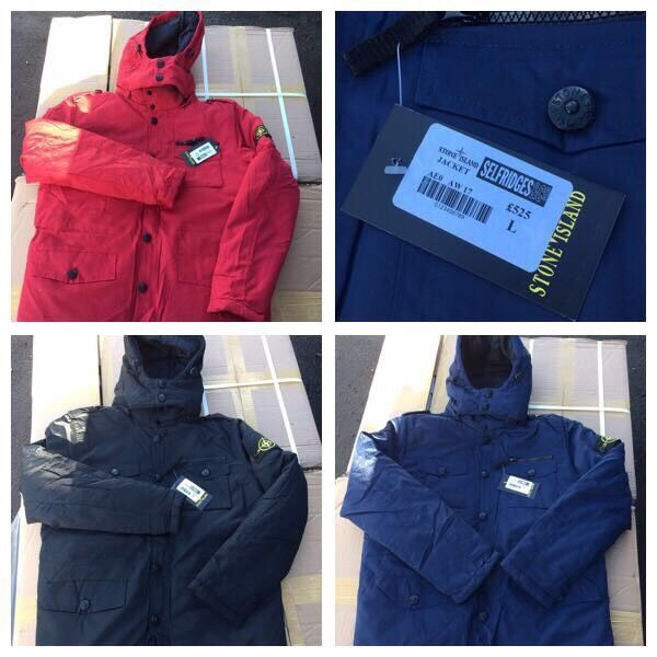 Stone Island winter jackets Joblot Available (OZEYin Birmingham City Centre, West MidlandsGumtree - Pleasle call text or whattsapp me on this number 07934440364 (1) for £50 24 Jackets for £530 that works out £22 each And trainers available 90s 95 womenAnd trainers available 90s 95 womenTracksuitsKids tracksuitsLadies tracksuitsHoodies Air max...