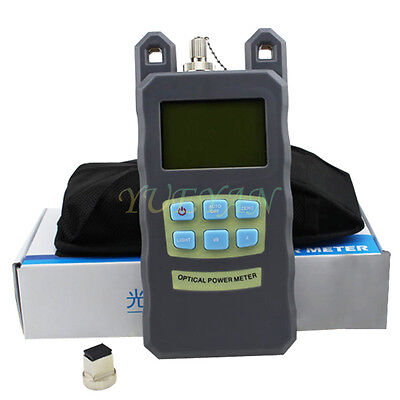 -7010dbm Fiber Optic Optical Power Meter Cable Tester Networks Fcsc Connector