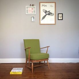 Mid Century Ercol Easy Chair