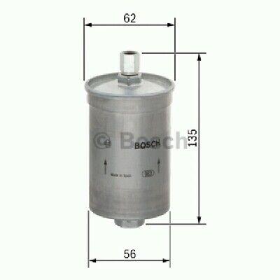 Bosch 0986AF8092 Kraftstofffilter