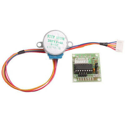 2pcs Dc 5v Stepper Motor Uln2003 Driver Test Module Board 28byj-48 For Arduino