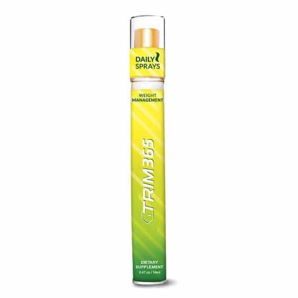 Trim 365 Liquid Lipo Weight Loss Management Natural Spray New Formula Packaging
