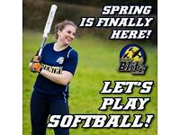 FEMALES WANTED: Softball is back in coventry