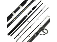 NGT Nautica 8ft 4pc Carbon Sea Fishing Travel Holiday Rod - DELIVERY ARRANGED - NEW