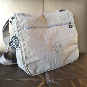 "Kipling ""Madhouse"" expandable messenger bag"