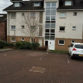 Modern 2 bedroom flat in Broomhouse, Uddingston for rent