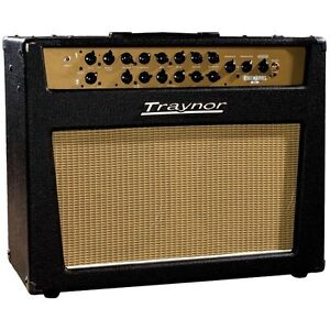 2009 Traynor YCS90 Custom Special 212 amp with Gator road case
