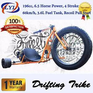 6.5HP FATBOY MOTORISED DRIFT-TRIKE 196cc BRAND NEW FREE SHIPPING Yanchep Wanneroo Area Preview