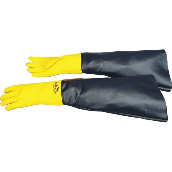 "Skat Blast Sandblast Cabinet Gloves, 28"" long #6051-00"