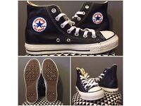 Converse All Star Hi Top Black Leather