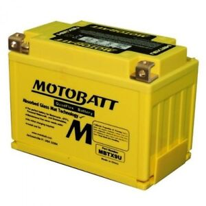 New MOTOBATT BATTERY for ADLY 300 Crusader Quad,300 MBTX9U