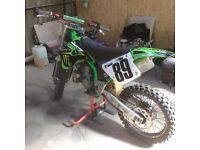 Kawasaki kx 250 1997