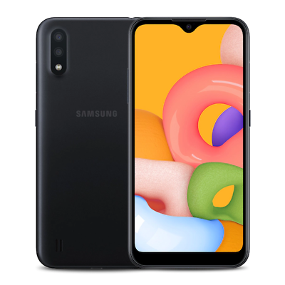 Android Phone - Samsung Galaxy A01 16GB Black Verizon 4G LTE Android Smartphone SMA015VZKVZ