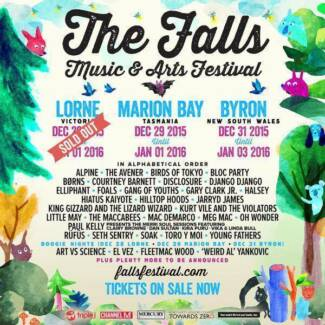 4 x Falls Festival Byron Bay ticket Bedford Park Mitcham Area Preview