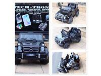MERCEDES G63 AMG(Electric), G-Wagon, Black, Self Drive & Parental Remote